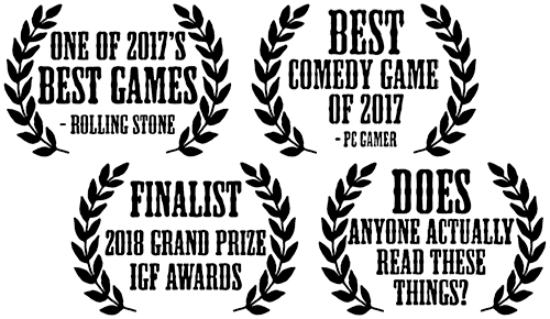 Accolades for West of Loathing